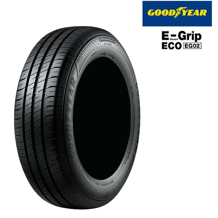 グッドイヤー エフェシェントグリップ エコ EG02 145/80R13 75S 145/80-13 夏 サマータイヤ 4 本 GOODYEAR EfficienGrip ECO EG02