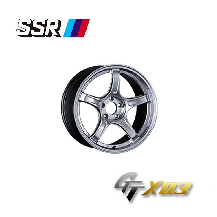 流行 SSR GTX03 ジーティーエックスゼロスリー SSR 7.5J-18 +38 5H-100 4本 GTX03 +38 新品, ICEFIELD:f1e31815 --- verandasvanhout.nl