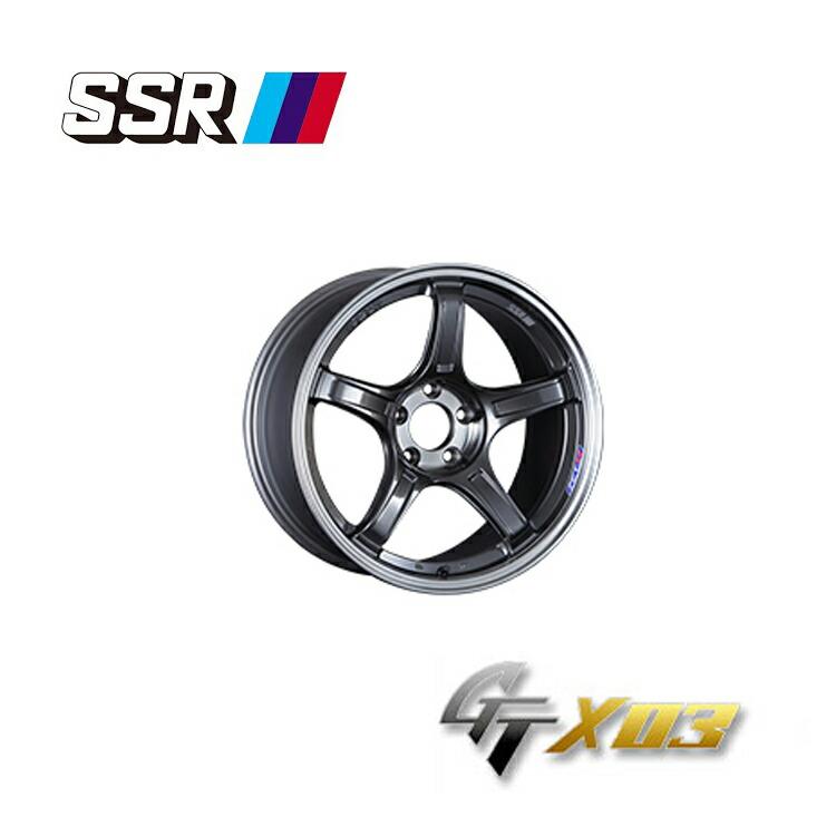 代引き人気 SSR ジーティーエックスゼロスリー 10.5J-18 +22 5H-114.3 4本 GTX03 新品, シラハママチ 4d9c5971