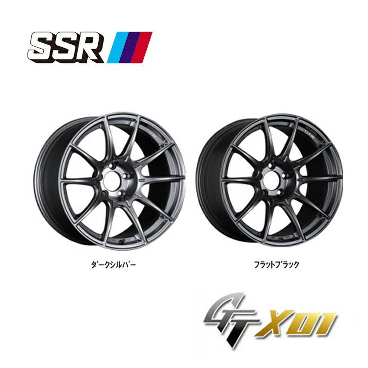 SSR オンライン限定商品 ジーティーエックスゼロワンフォーインポート 4本 19インチ 5H120 9.5J+38 GTX01 IMPORT 割り引き +38 新品 5H-120 FOR 9.5J-19