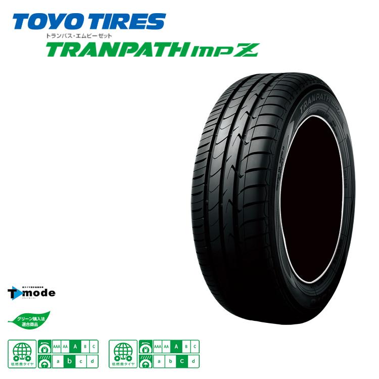 トーヨー トランパス エムピーゼット 215/45R18 93W XL 215/45-18 4 本 TOYO TRANPATH MPZ