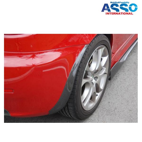 [メーカー取り寄せ]ASSO(アッソ・インターナショナル) カーボンアンダースイープ 品番:147後期モデル