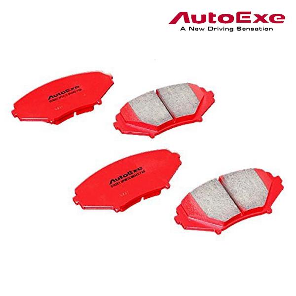 [メーカー取り寄せ]AutoExe (オートエグゼ)Street Sports Brake Pad ストリートスポーツブレーキパッド 品番:MSE5A10