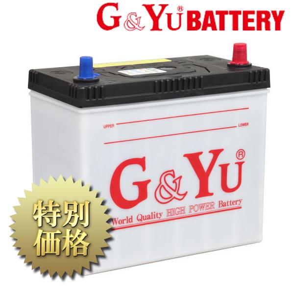 G&Yu BATTERY(ジーアンドユー バッテリー)ecoba シリーズ 品番: ecb-60B24L