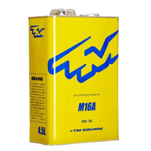 TM-SQUARE(TMスクエア)M16A エンジンオイル 100%化学合成油 5W40 4.5L M16Aエンジン用オイル品番:TMOL-V02901