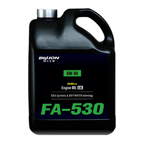 BILLION(ビリオン)86/BRZ専用エンジンオイル5W30 5.6L 100%化学合成油(PAO/エステルベース)品番:FA-530