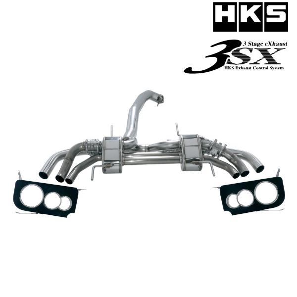 [送料無料][メーカー取り寄せ]HKS(エッチ・ケー・エス)3sx Muffler / 3sx マフラー 品番:31025-AN006