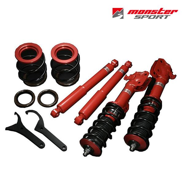 [送料無料][メーカー取り寄せ]MONSTER SPORTS(モンスタースポーツ)車高調整サスペンションセット 品番:553501-6900M