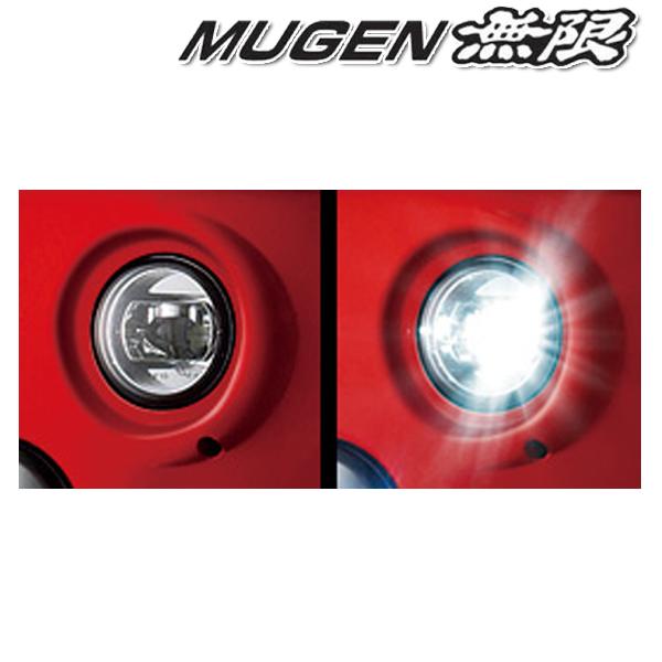 [メーカー取り寄せ]MUGEN(無限)LED Fog Light Attachment LED フォグライトアタッチメント 品番:08V31-XML-K1S0