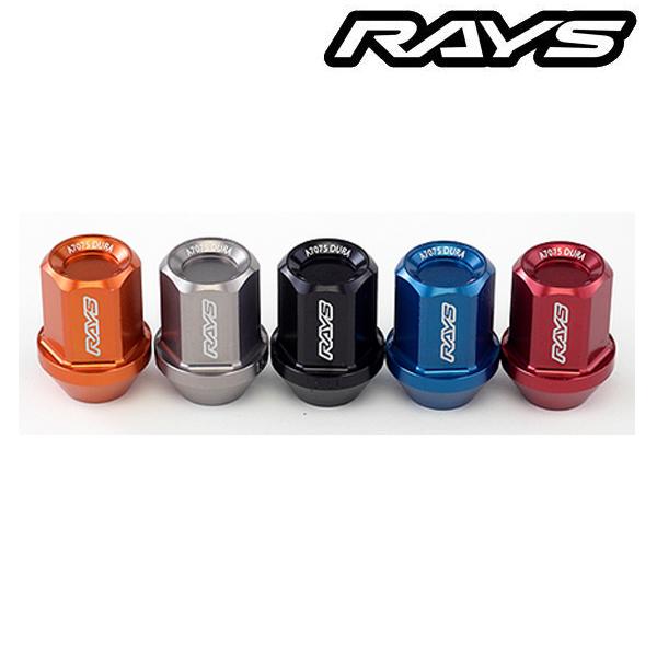 RAYS(レイズ)ジュラルミンロック&ナットセット L42 M14×1.5 20個入り