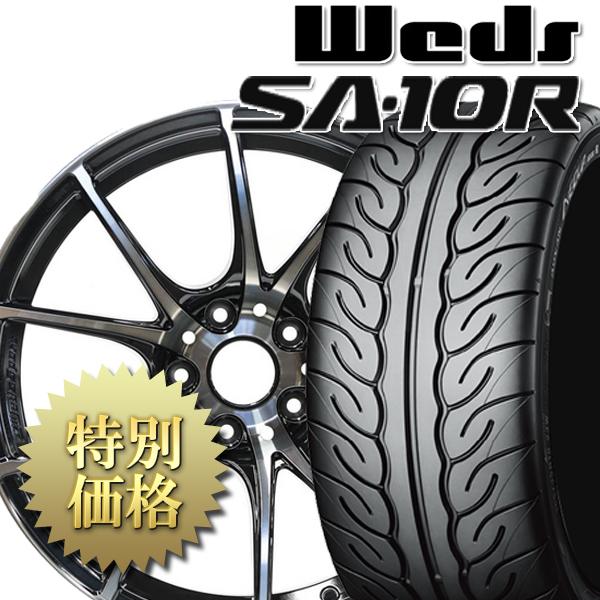 [送料無料][メーカー取り寄せ][製造:指定不可]タイヤホイール4本セット SA-10R + ADVAN NEOVA AD08R 1台分セット サイズ: 225/40R18