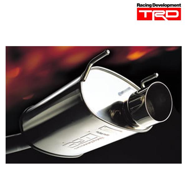 [メーカー取り寄せ] TRD ハイレスポンスマフラー Ver.S 品番:MS153-28019