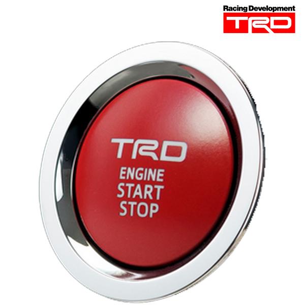 [メーカー取り寄せ]TRD プッシュスタートスイッチ 品番:MS422-00003