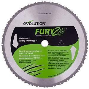 evolution エボリューション FURY2 355mm万能切断機チップソ- 0849713035042 skc-058503