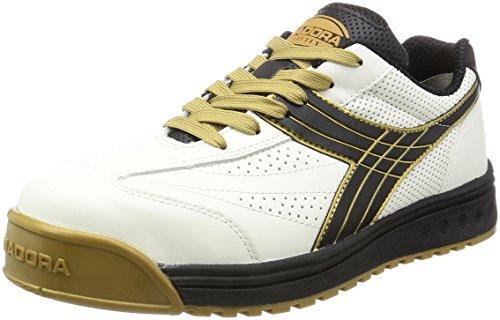DIADORA ディアドラ 安全靴 ピーコック PC-12 ホワイト/ブラック 26.5cm 4979058881755 skc-091459 送料無料