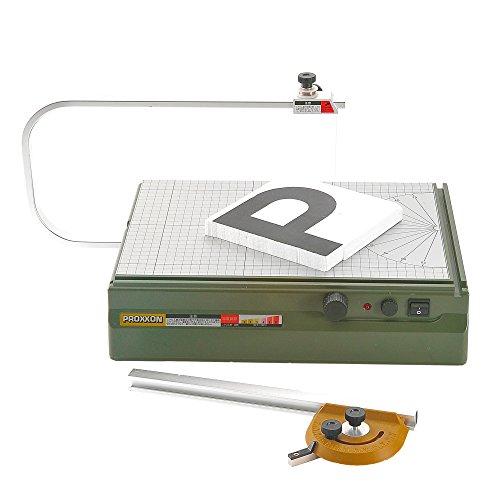 プロクソン PROXXON 卓上スチロールカッター 発砲スチロールの切断に最適 直線・角度切で便利 温度調節機能付 No.27180 4952989271802 skc-120771 送料無料