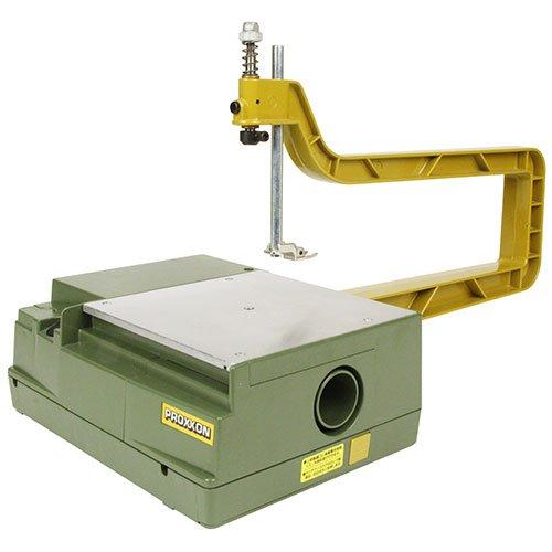 プロクソン PROXXON コッピングソウテーブル ローエンドモデル 手軽に電動糸鋸盤を使い方にお勧め 糸鋸刃3種各2本付 No.27081 4952989270812 skc-120814 送料無料