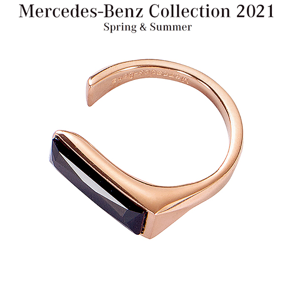 メルセデスベンツコレクション スワロフスキー リング ピンクゴールド B66953601 送料無料