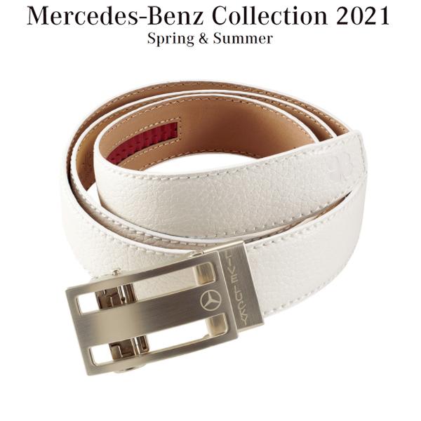 メルセデスベンツコレクション Mercedes-Benz × BLACK CLOVER Lucky ベルト ホワイト B91905091