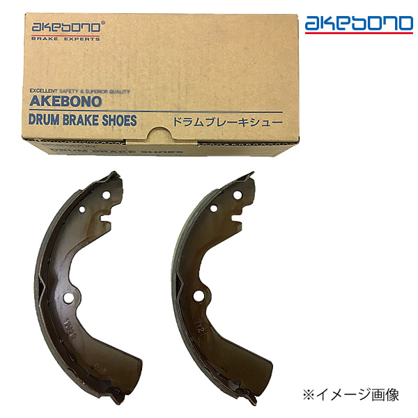 秀逸 AKEBONO 曙ブレーキ工業 ブレーキシュー 高級品 トレーディングキット NN3573R
