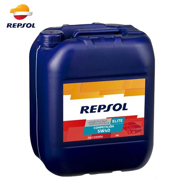 REPSOL レプソル ELITEシリーズ エリート・コンペティション 5W40 4輪用モーターオイル 20L 007143