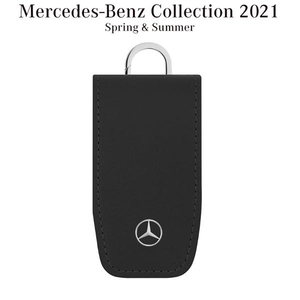 メルセデスベンツコレクション キーカバー スクエア フラップ ブラック B66958408