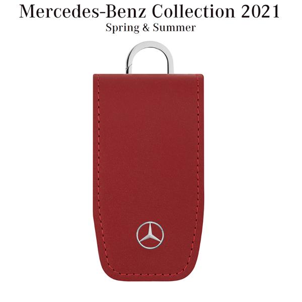 メルセデスベンツコレクション キーカバー スクエア フラップ レッド B66958410