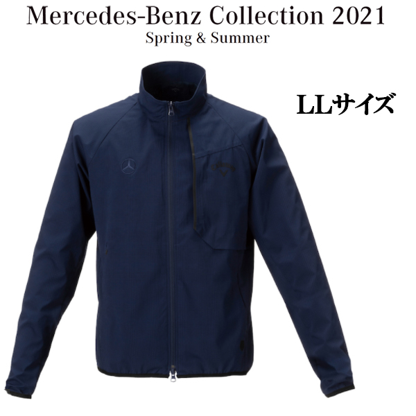 メルセデスベンツコレクション Mercedes-Benz×Callaway フルジップブルゾン ネイビー LLサイズ B91905282