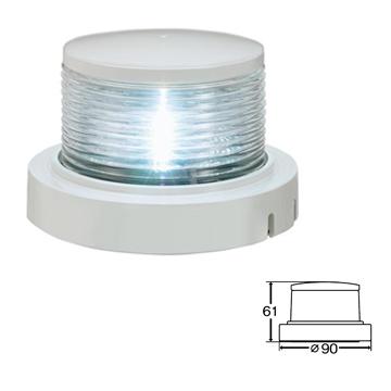 小糸製作所 MLA-4AB2: LED小型船舶用船灯 第二種白灯(アンカーライト) [取寄せ:欠品・完売時は入手不可]