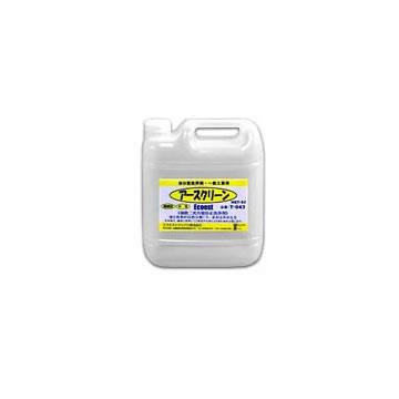 T-043 アースクリーン 油分散洗浄剤 中性・濃縮型 容量:5リットル (エコエストジャパン) [1.取寄せ 2.北海道.沖縄.離島への出荷は行えません]