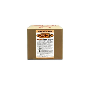 T-062 アースクリーンK 油分散洗浄剤 中性・濃縮型 容量:18リットル (エコエストジャパン 食器洗浄・床洗浄向け) [1.取寄せ 2.北海道・沖縄を除き送料無料]
