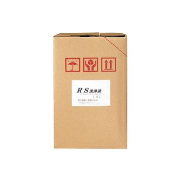 RS洗浄液 準水系・中性 容量:18kg(鈴木油脂工業:S-2019 分類:部品洗浄剤) [取寄せ:欠品・完売時は入手不可]