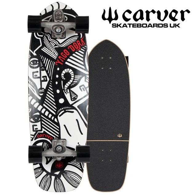 (取り寄せ) CARVER カーバー スケートボード C7 Resin skate board デッキ 並行輸入品 30.75