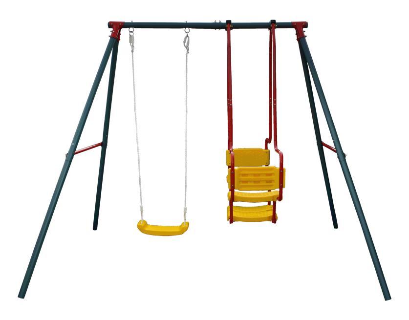(GioiaSorte) ブランコ 遊具 屋外 スイングセット 大型遊具 キッズ 子供 DIY 1人乗り 2人乗り 3人 まで同時使用可能