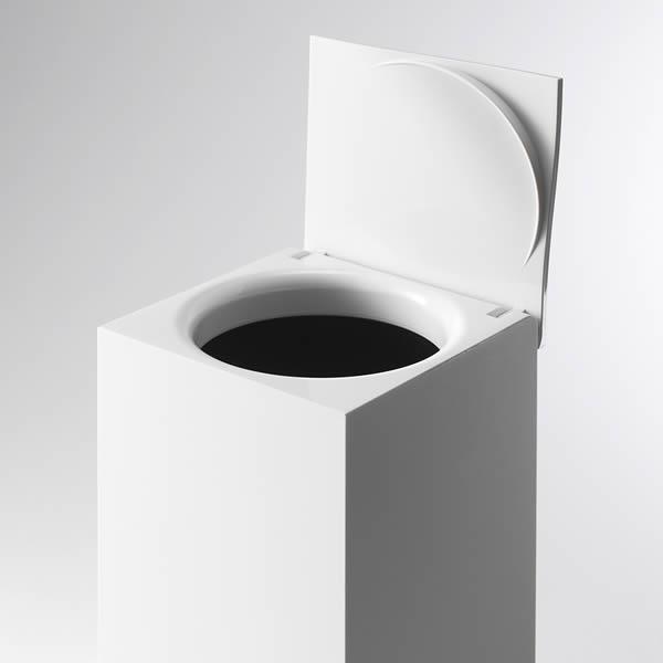 目立たない トイレのコーナーにスッキリとけ込むゴミ箱 RETTO レットー コーナーポット 機能と美しさを追求したフォルム ゴミ箱 キャンペーンもお見逃しなく サニタリーポット トイレゴミ箱 トイレポット おしゃれ 送料無料お手入れ要らず ごみ箱 くず入れ トイレ ダストボックス トラッシュボックス スクエアゴミ箱 ミニゴミ箱 サニタリー 小さいゴミ箱
