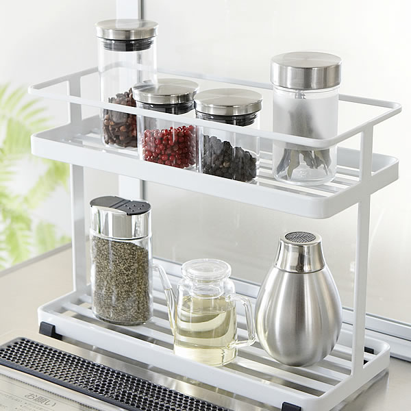 More than 3,240 Yen in orders in KITCHEN STAND kitchen stand kitchen  equipment kitchen rack kitchen supplies condiment set Spice rack Rack  storage ...