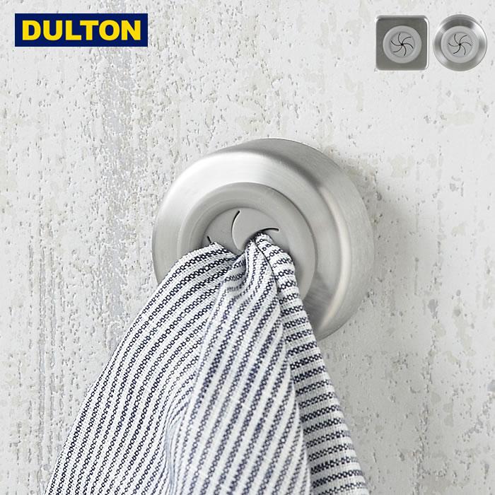 シンプルなタオルフォルダー DULTON Towel holder Square/Round 強力両面テープで貼り付けるだけの簡単取り付け!タオルのセットも指で押し込むだけのワンタッチ!Simple is best! タオルホルダースクエア/ラウンド Towel holder Square/Round タオルホルダー ダルトン DULTON タオル掛け キッチン ふきん掛け 台所 洗面台 トイレ スクエア 四角 ラウンド 丸 両面テープ シンプル バスルーム タオルクリップ