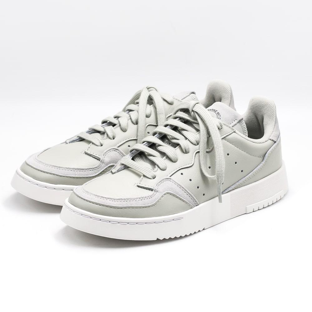 adidas originals [Adidas originals] SUPERCOURT W supermarket coat W 9A EE6045 Ashe silver sneakers
