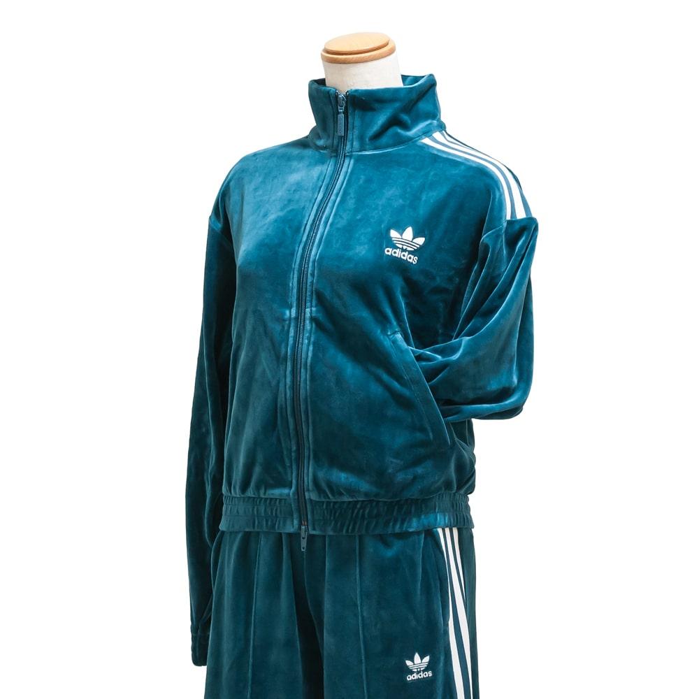 adidas originals [Adidas originals] VELVET TRACK TOP 9A ed4731 technical center mineral jersey velour street casual setup