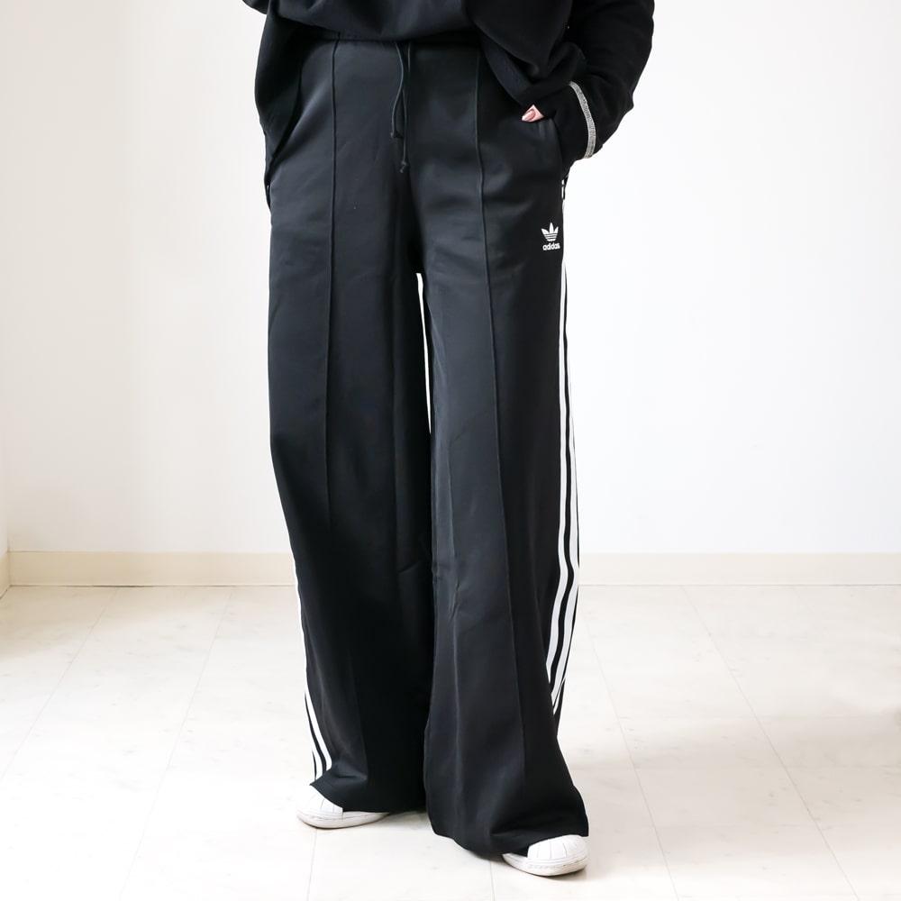 ランキングTOP10 送料無料 2021春夏新作 adidas originals アディダス オリジナルス PRIMEBLUE ワイドパンツ リラックス マーケット ブラックスポーティー セレクト ワイドレッグパンツ21S カジュアル GD2273
