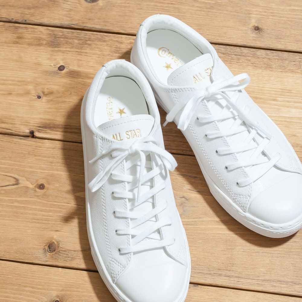 CONVERSE [Converse] ALL STAR COUPE LEATHER OX オールスタークップレザー OX 9A 3130029 white zipper Taylor
