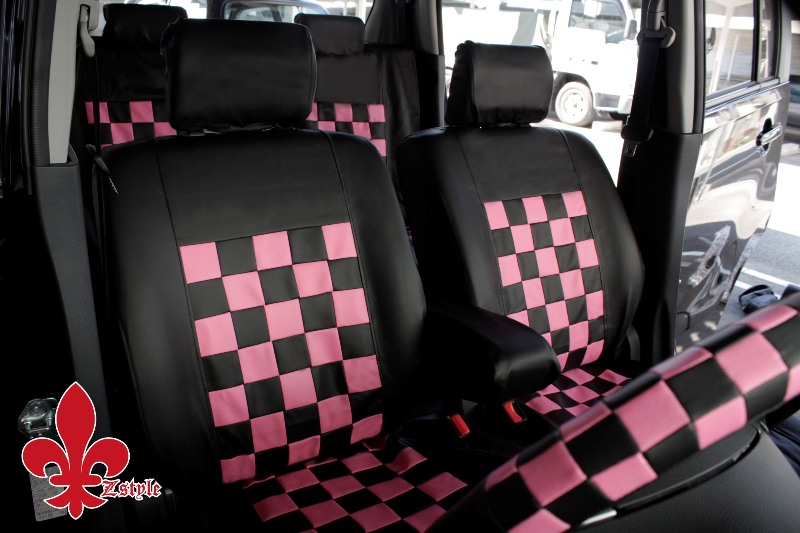 Cars Z Style Mini Car Seat Cover For Super Cute Black Amp Pink