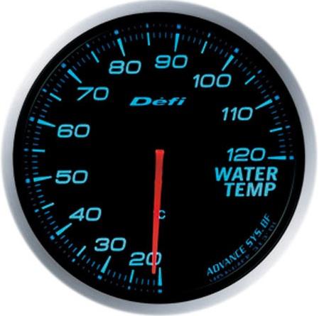 Defi-Link Meter ADVANCE BF (アドバンス ビーエフ)60φ水温計 ブルー別途アドバンスユニット必要