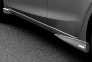 AutoExe (オートエグゼ)サイドストレーキセット 未塗装アクセラ (スポーツ)