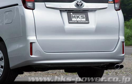 HKS LEGAMAX Premium リーガマックスプレミアムマフラーヴォクシー DBA-ZRR80G2WD、2.0LのグレードV、X、X C Package用