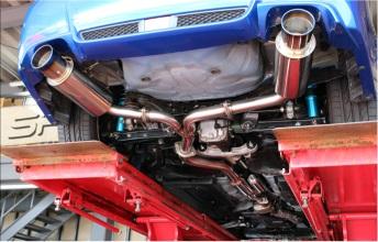 GP SPORT(ジーピースポーツ)EXAS EVO Tune(エグザス エボチューン)インプレッサWRX STI CBA-GVB6MT、ターボ専用 (触媒後交換)