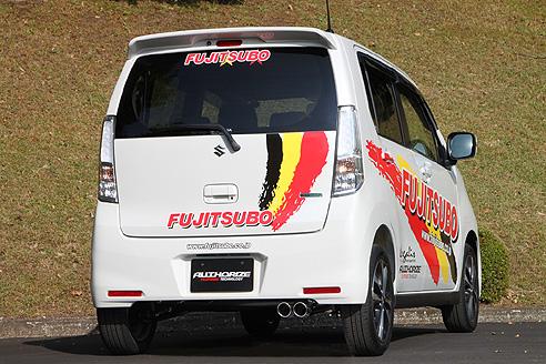FGK(フジツボ)オーソライズKマフラーMH34S ワゴンR スティングレー ターボ 2WD