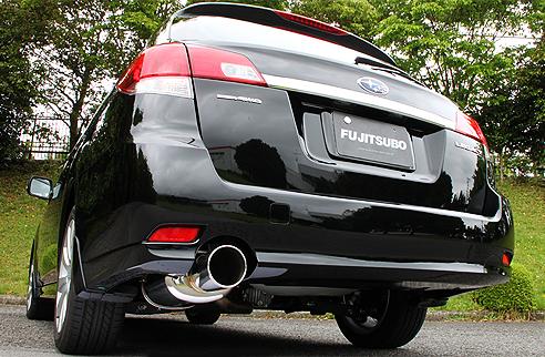 FGK(フジツボ)オーソライズSマフラーBR9 レガシィ ツーリングワゴン 2.5 NA