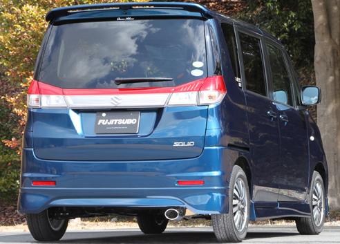 FGK(フジツボ)オーソライズSマフラーMB15S デリカ D:2 1.2 2WD