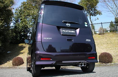 FGK(フジツボ)オーソライズKマフラーMK21S パレット SW ターボ 2WD